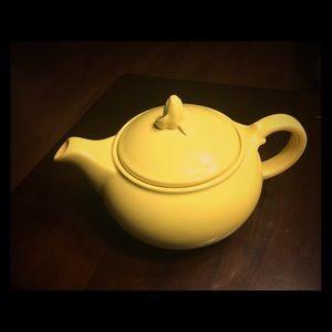 ☀️ LuRay PASTELS yellow teapot T.S.& T. USA